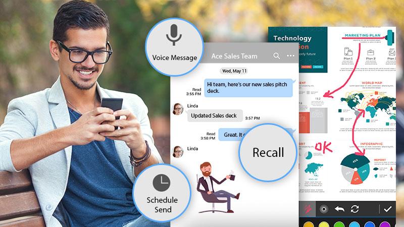 U Messenger - Business Instant Messenger & Group Chat| U